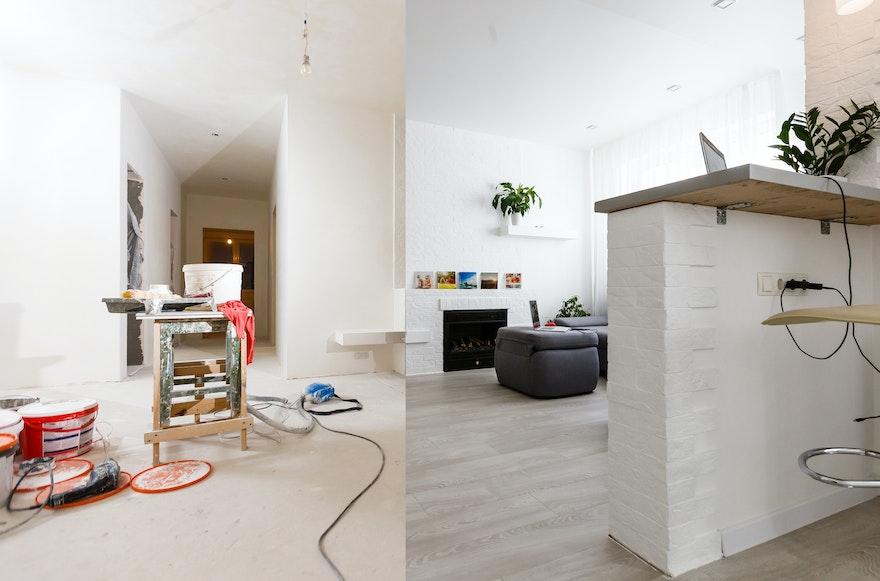 Rénovations maison : les étapes incontournables avant la vente