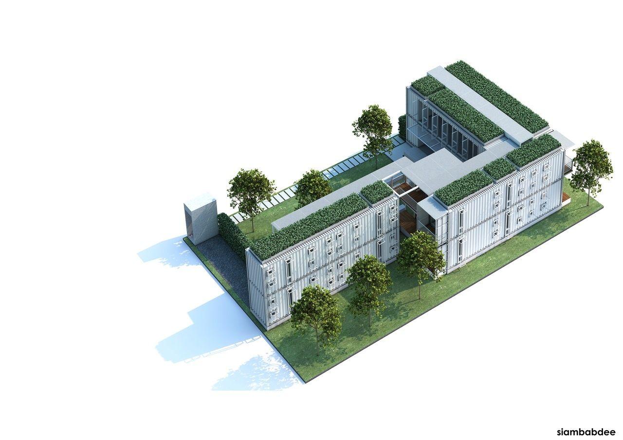 The Yard first 3D design by Siambabdee