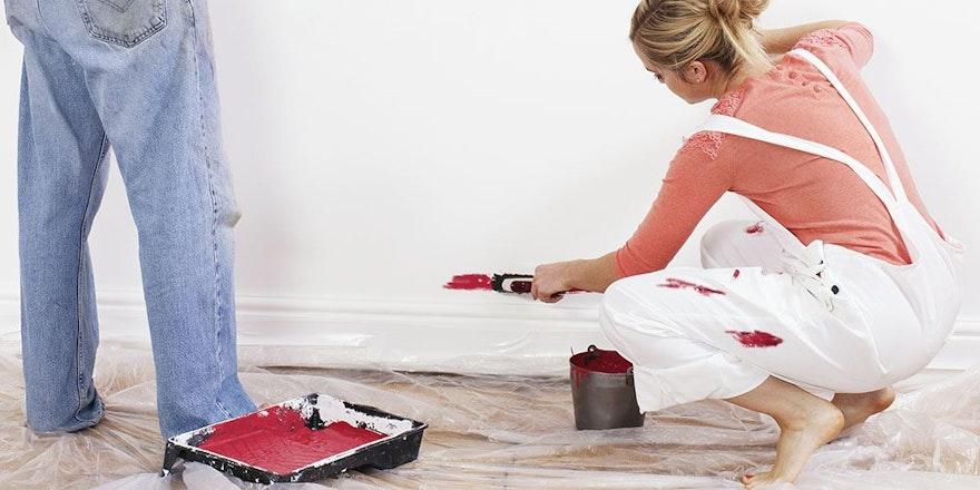 Kıyafetinizden ev duvar boyası lekesini nasıl çıkarırsınız?
