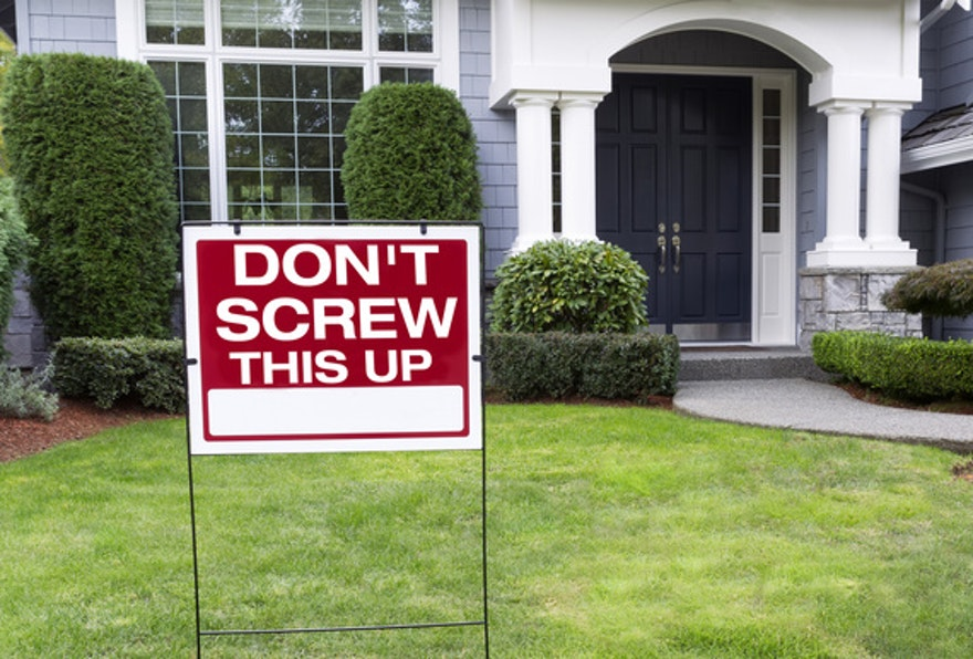 10 Mistakes First-time home buyers make
