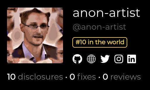 Anon-Artist