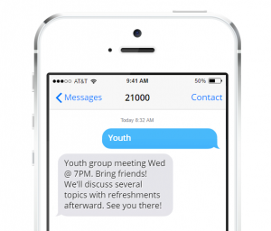 TEXT MESSAGING FOR CONFERENCES, EVENTS & MEETINGS