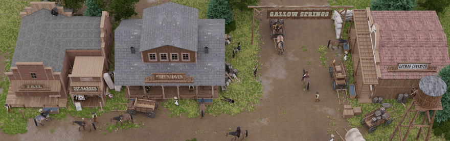 Bringing Gallow Springs to Life