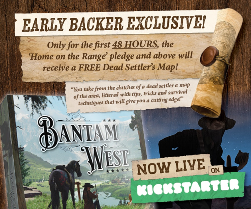The day has come, Bantam West launches today!