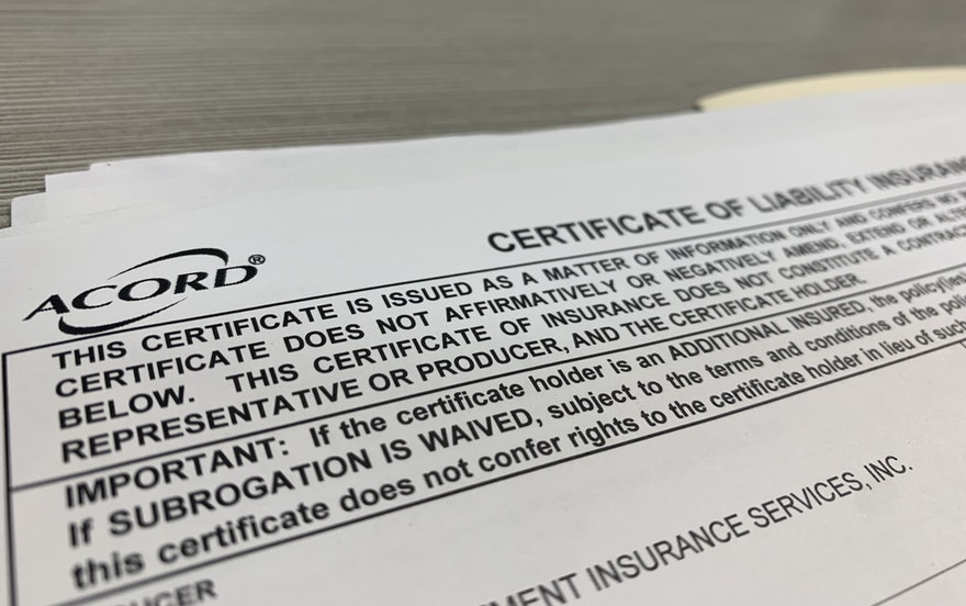 What Is a Certificate of Insurance?