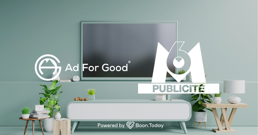 """M6 publicité lance """"s6lidaire"""" avec le label Ad For Good®"""