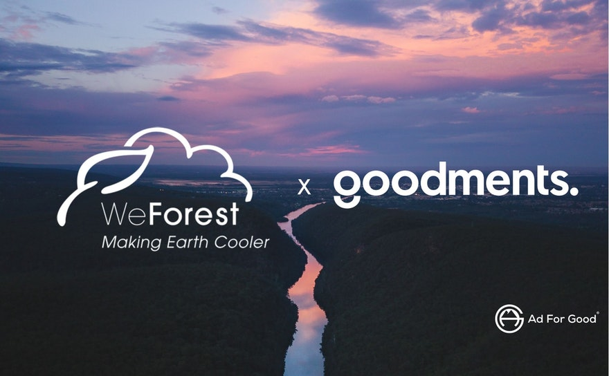 How a startup has supported an environmental cause through their advertising campaign