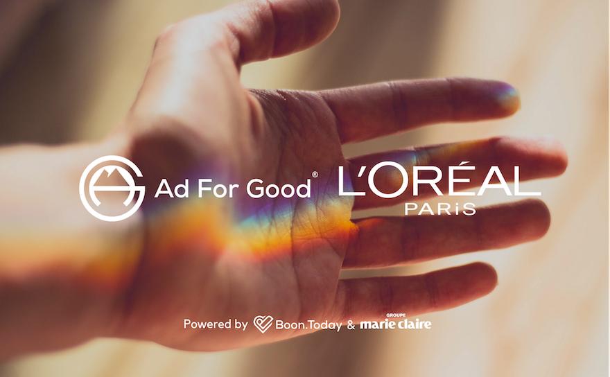 Comment L'Oréal responsabilise ses achats médias avec Ad For Good® et le Groupe Marie Claire (GMC) ?