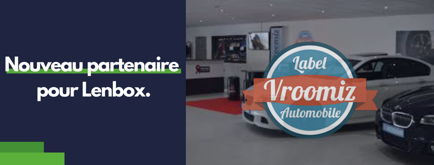 Le label Vroomiz choisit Lenbox pour son réseau d'indépendants