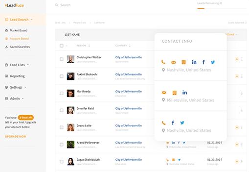 Lead Fuze LinkedIn Leads