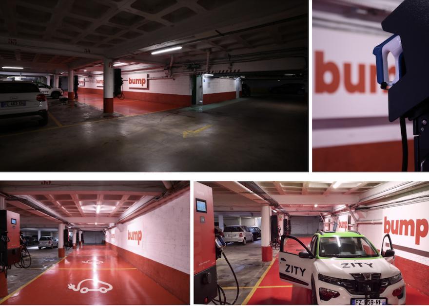 Le premier hub de recharge pour véhicules électriques de bump ouvre aujourd'hui dans Paris et accueille ses premiers utilisateurs quotidiens - Zity et TopChrono