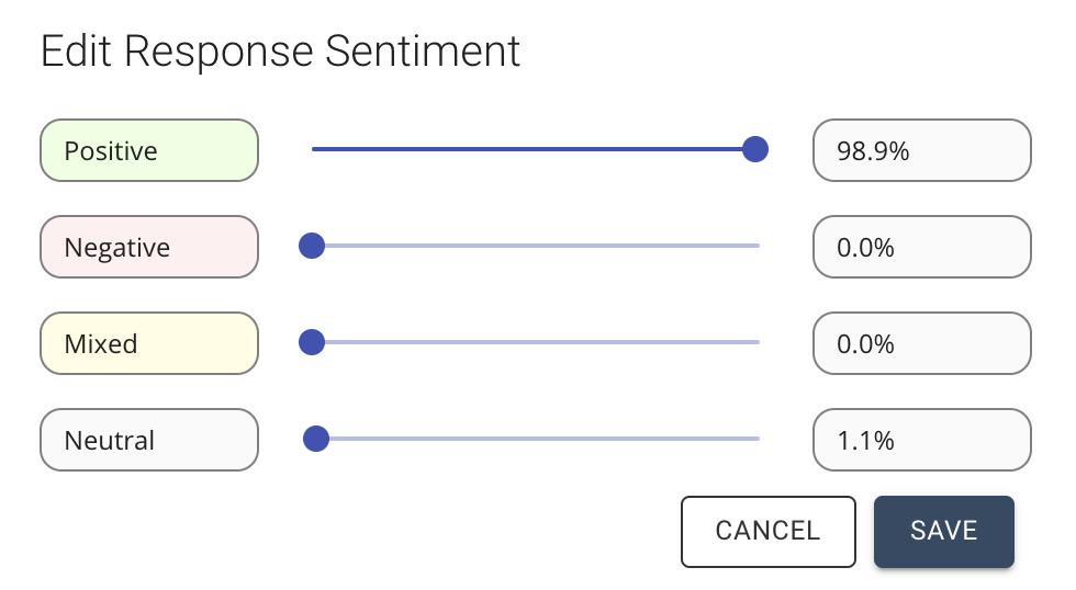 editing sentiment analysis