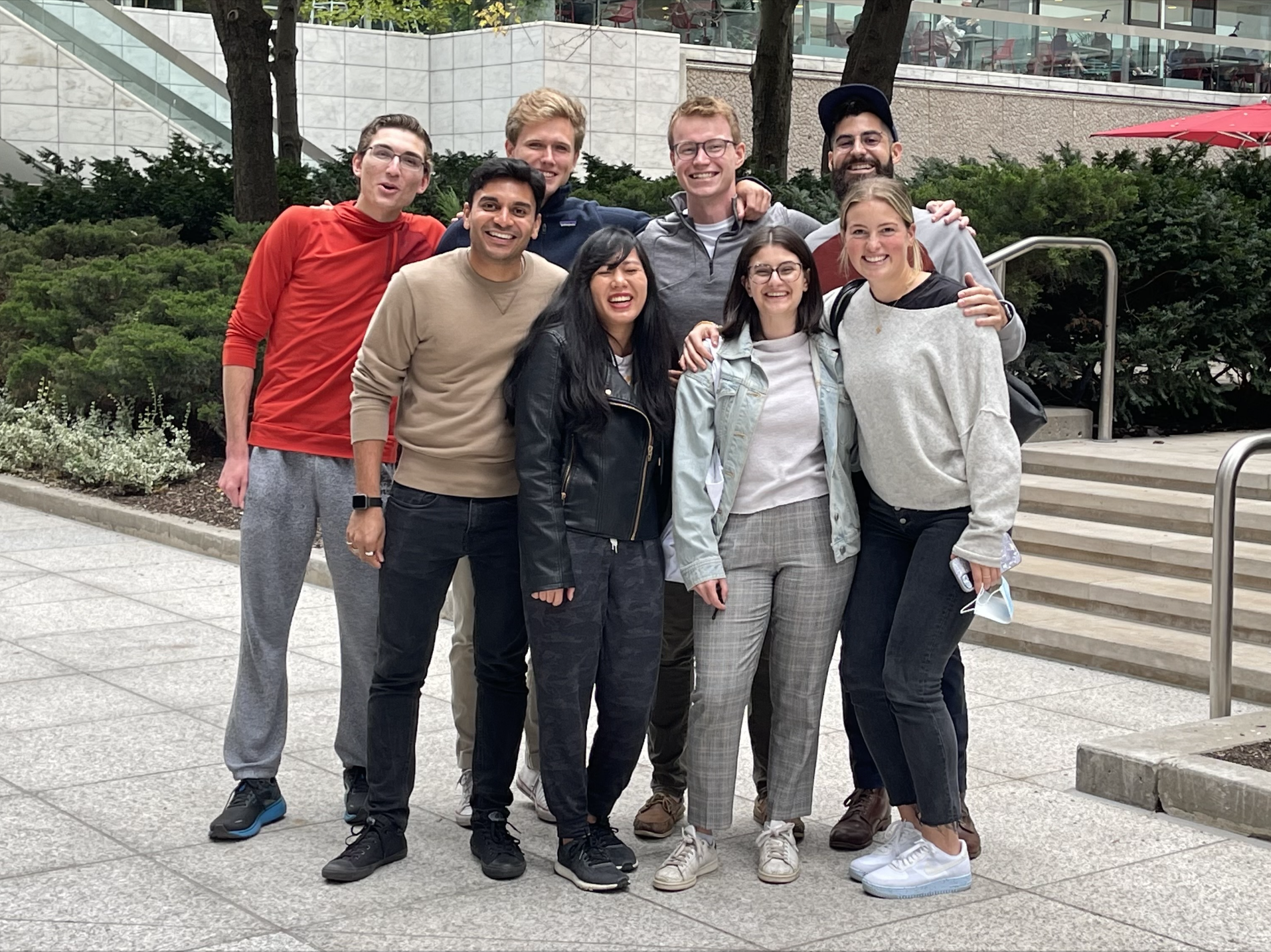 The Phonic team in Toronto
