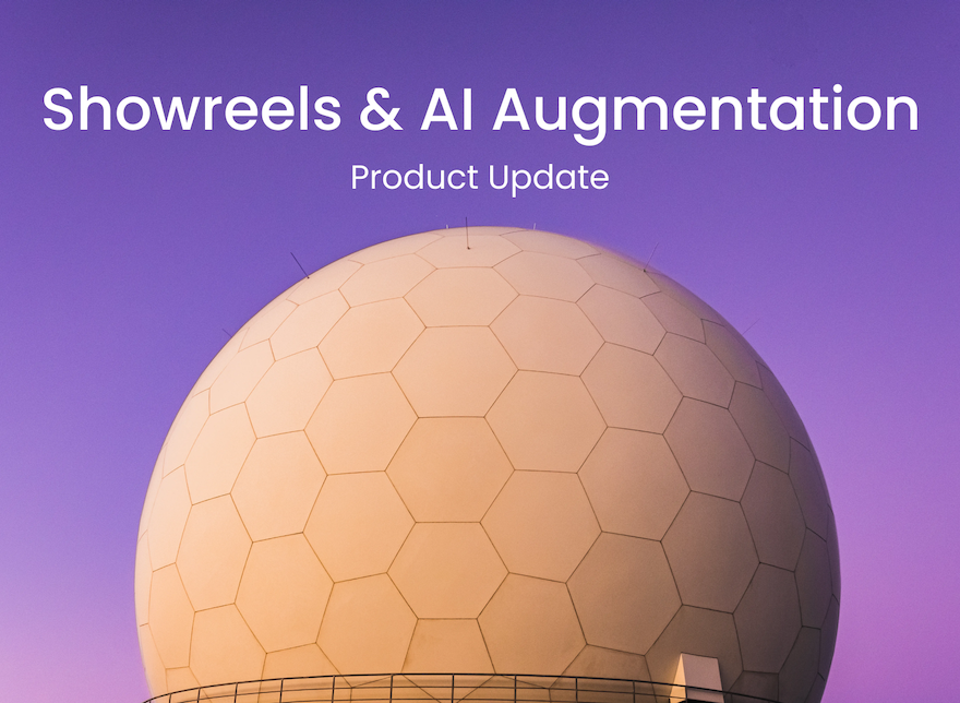 Product Update: Showreels & Auto-Coding