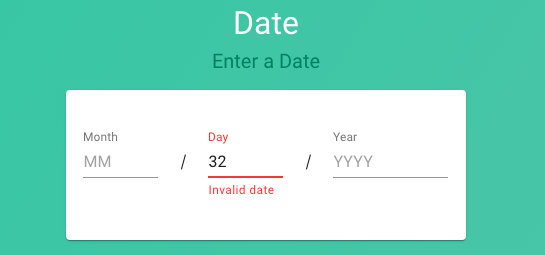 date question type