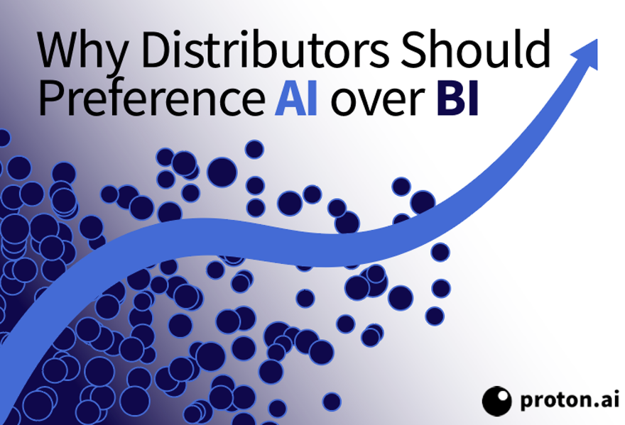 AI vs BI in Sales: Why Distributors Should Choose Artificial Intelligence