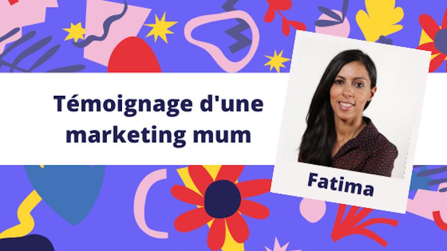Marketing Mums way of life #6 - Fatima