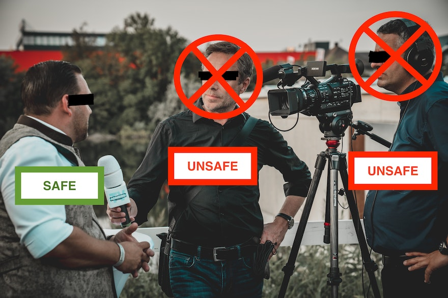 Which journalists write the most 'unsafe' articles?