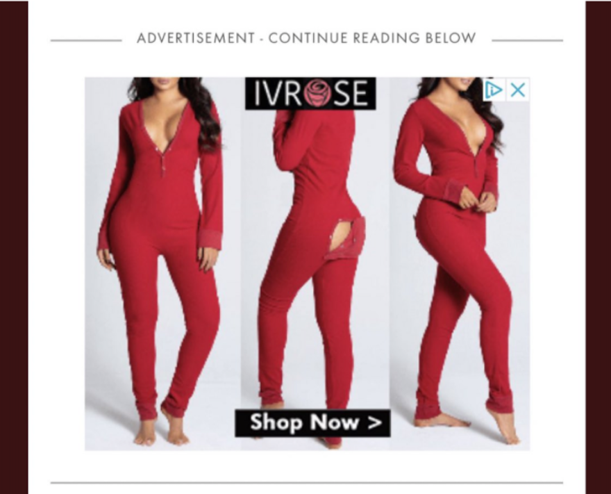 """The curious case of the """"buttflap onesie"""" ad"""