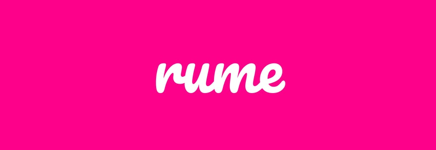 Welcome to the Rume blog
