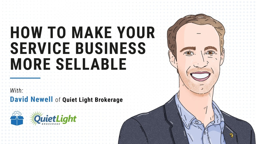 [PS #0004] How to make your service business more sellable with David Newell