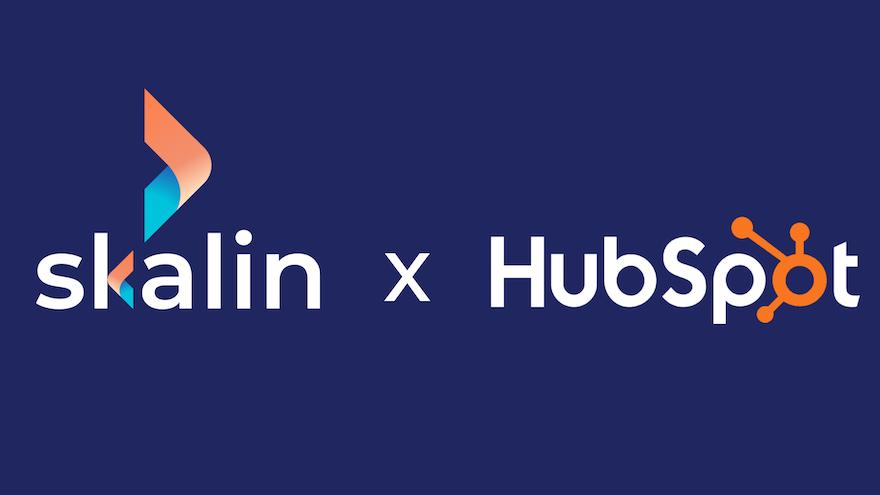 Vos données Hubspot augmentées avec Skalin