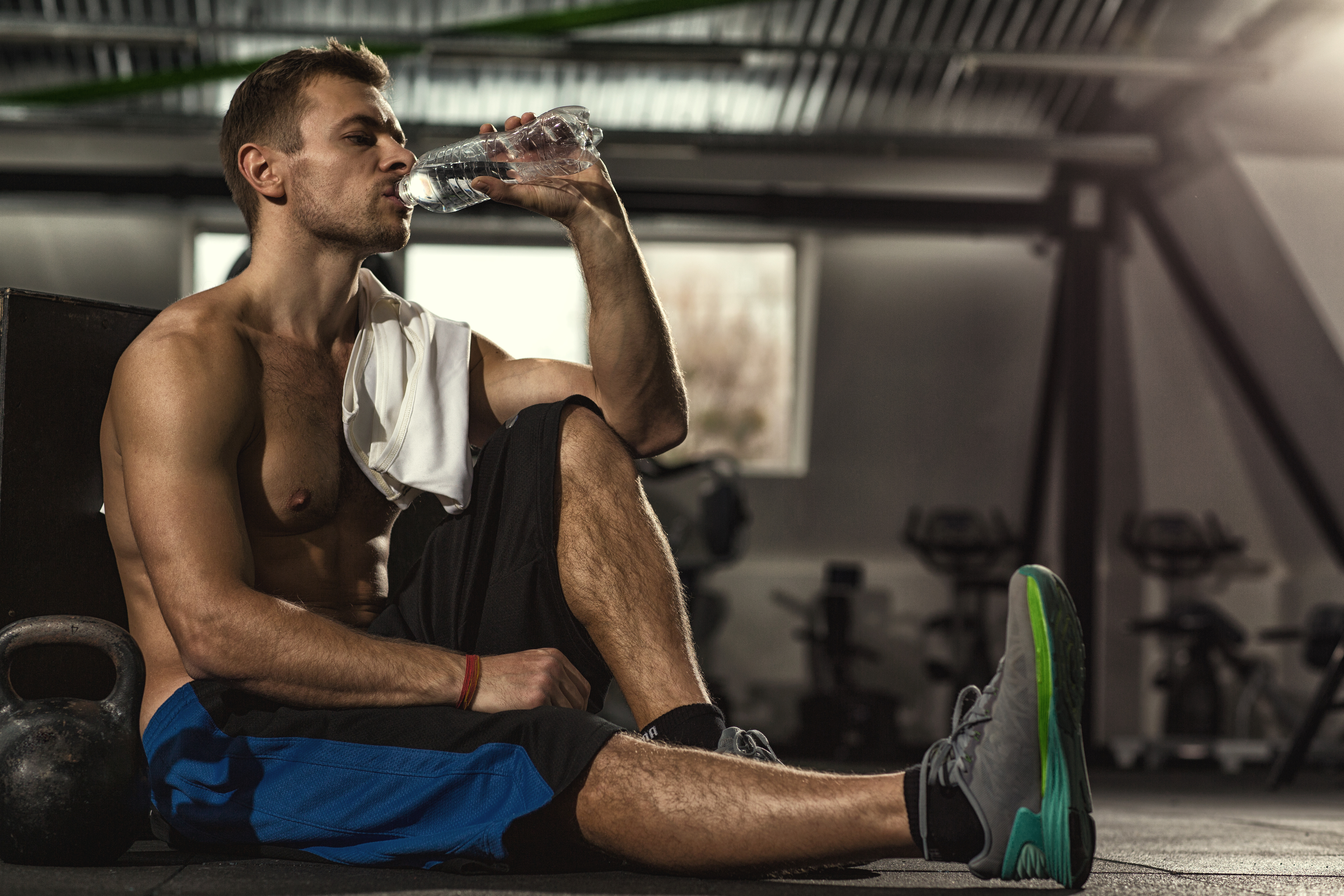 stay hydrated to reduce DOMS and muscle soreness