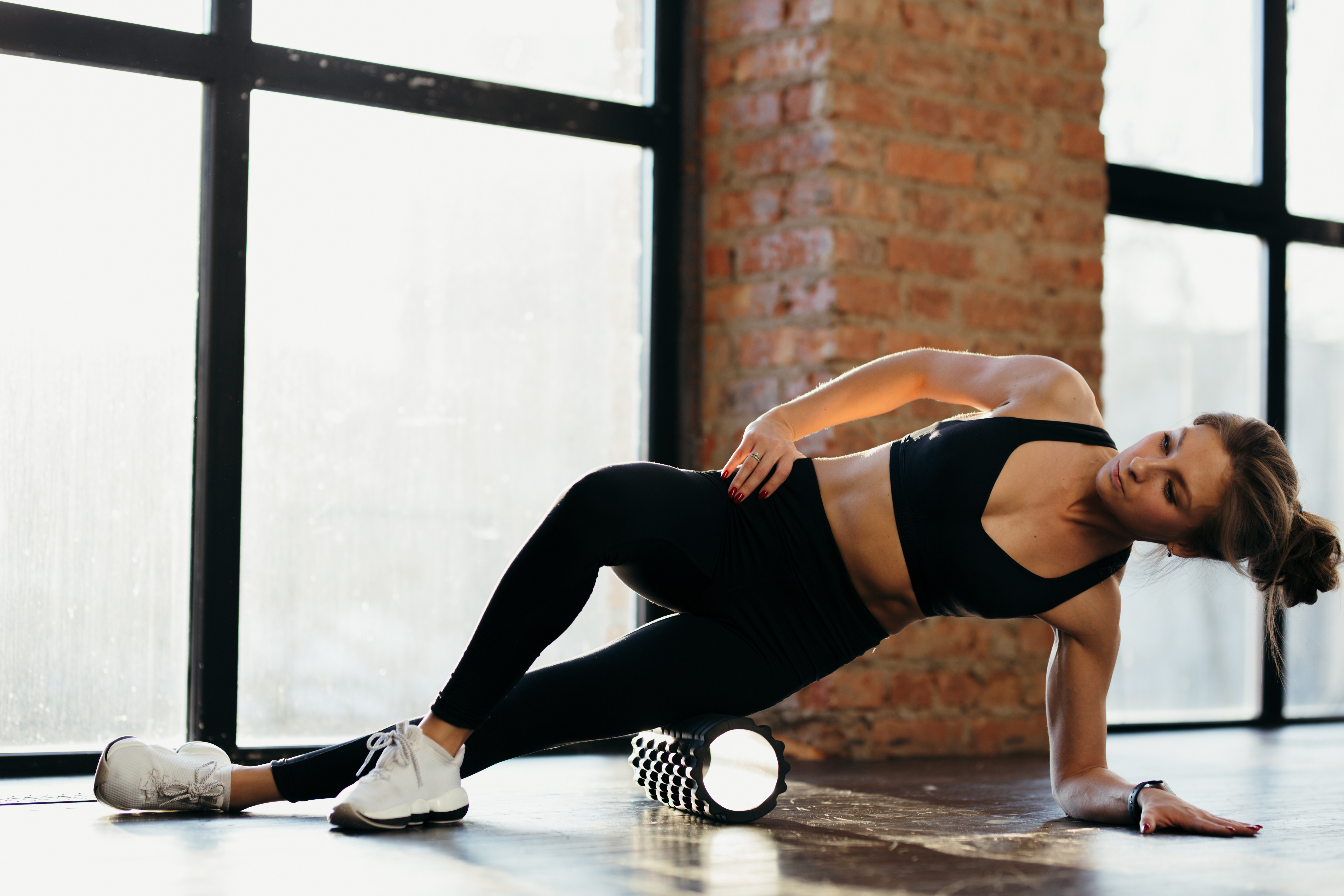 foam rolling to relieve sore muscles and DOMS