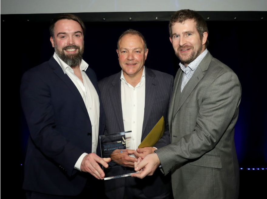 OBBI Solutions, is on cloud-nine after scooping IT Award