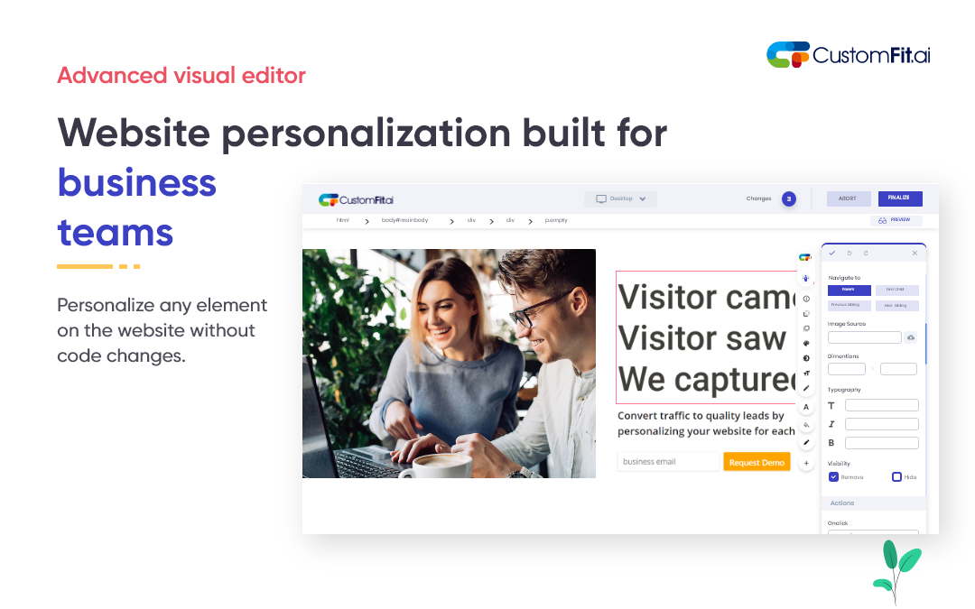 CustomFit Visual Website Editor.png