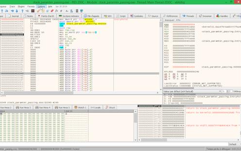 SnapCrab_stack_paramter_passingexe - PID 299C - Module stack_paramter_passingexe- Thread Main Thread 2DDC - _2019-3-20_19-18-2_No-00.png